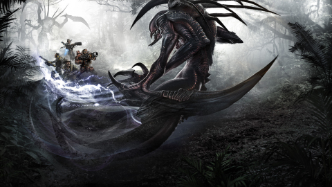 Wraith - The third playable Monster character artwork. (Photo: Business Wire)