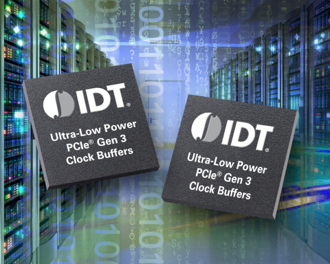 IDT Surpasses Milestone of 3 Million Low-Power PCIe Gen3 Buffers Shipped (Photo: Business Wire)