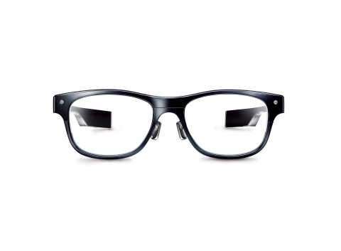 JINS MEME glasses (Photo: Business Wire)