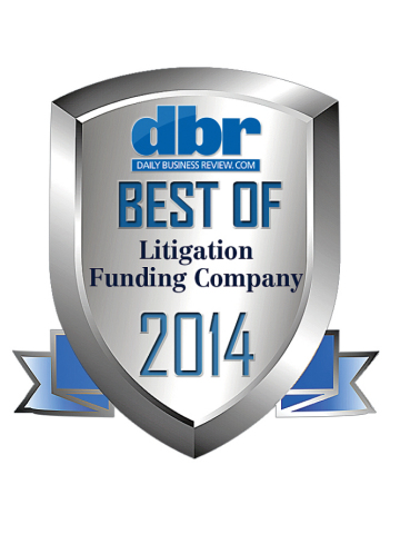 Best Lawsuit Funding Company Award (Graphic: Business Wire)