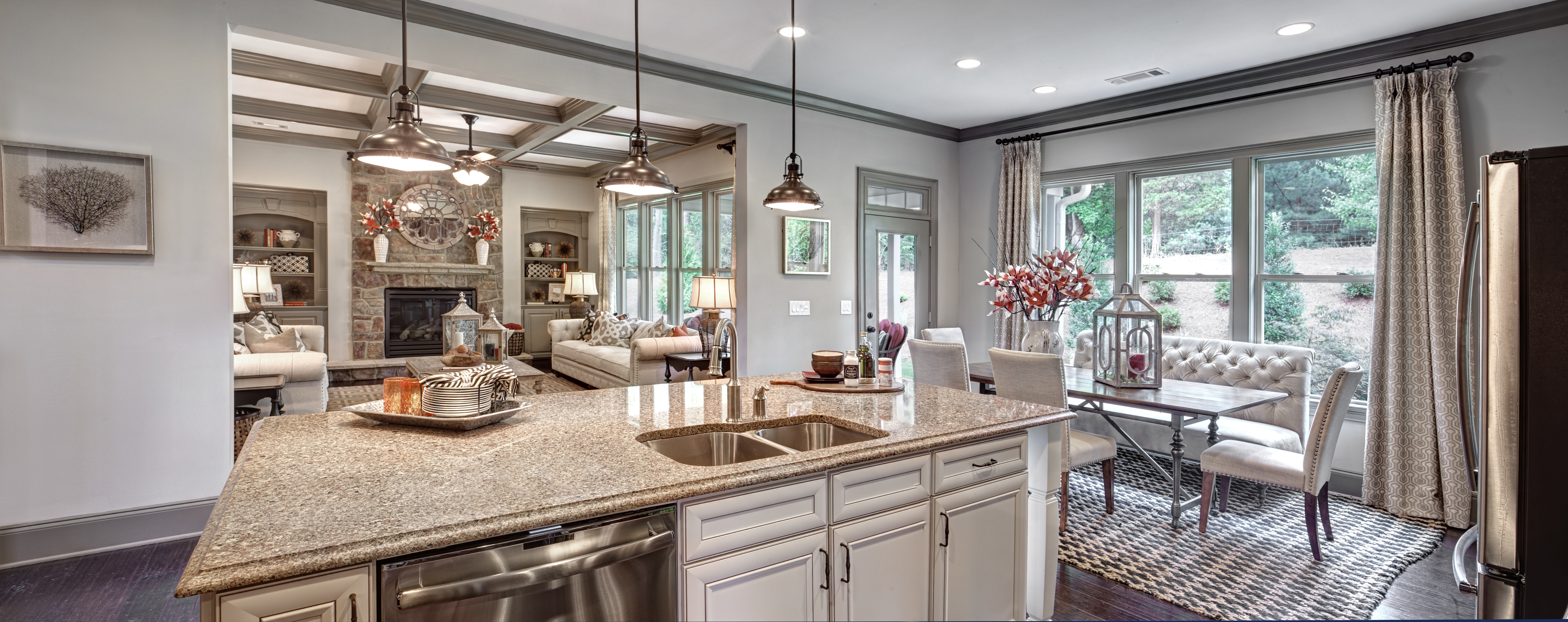 two ryland homes atlanta models recognized for best interior