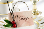 Make your party pop this year with simple, DIY upgrades using items around the house! For tips on how to customize your holiday celebration, visit Ocean Spray's Plan-It guide at www.oceanspray.com to learn more. (Photo: Business Wire)