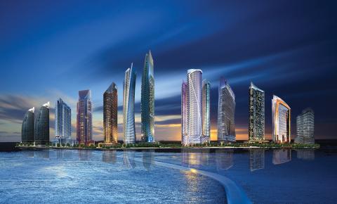 豪华房地产开发商DAMAC Properties承诺在迪拜购物节期间(DSF)销售房产赠送阿斯顿·马丁或梅赛德斯-奔驰。(照片:美国商业资讯)