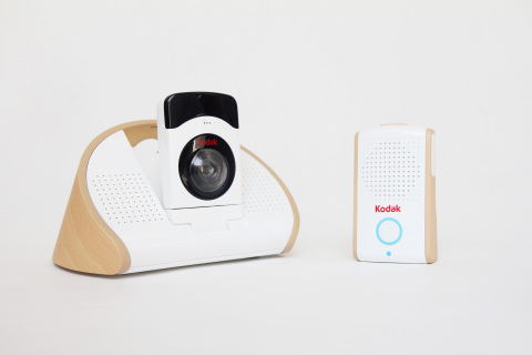 The KODAK Baby Monitoring System by Seedonk. The modularized system includes a base unit with two-way digital audio monitoring, a portable HD Wi-Fi camera, integrated sensor technology and an immersive smartphone and tablet app. (Photo: Business Wire)