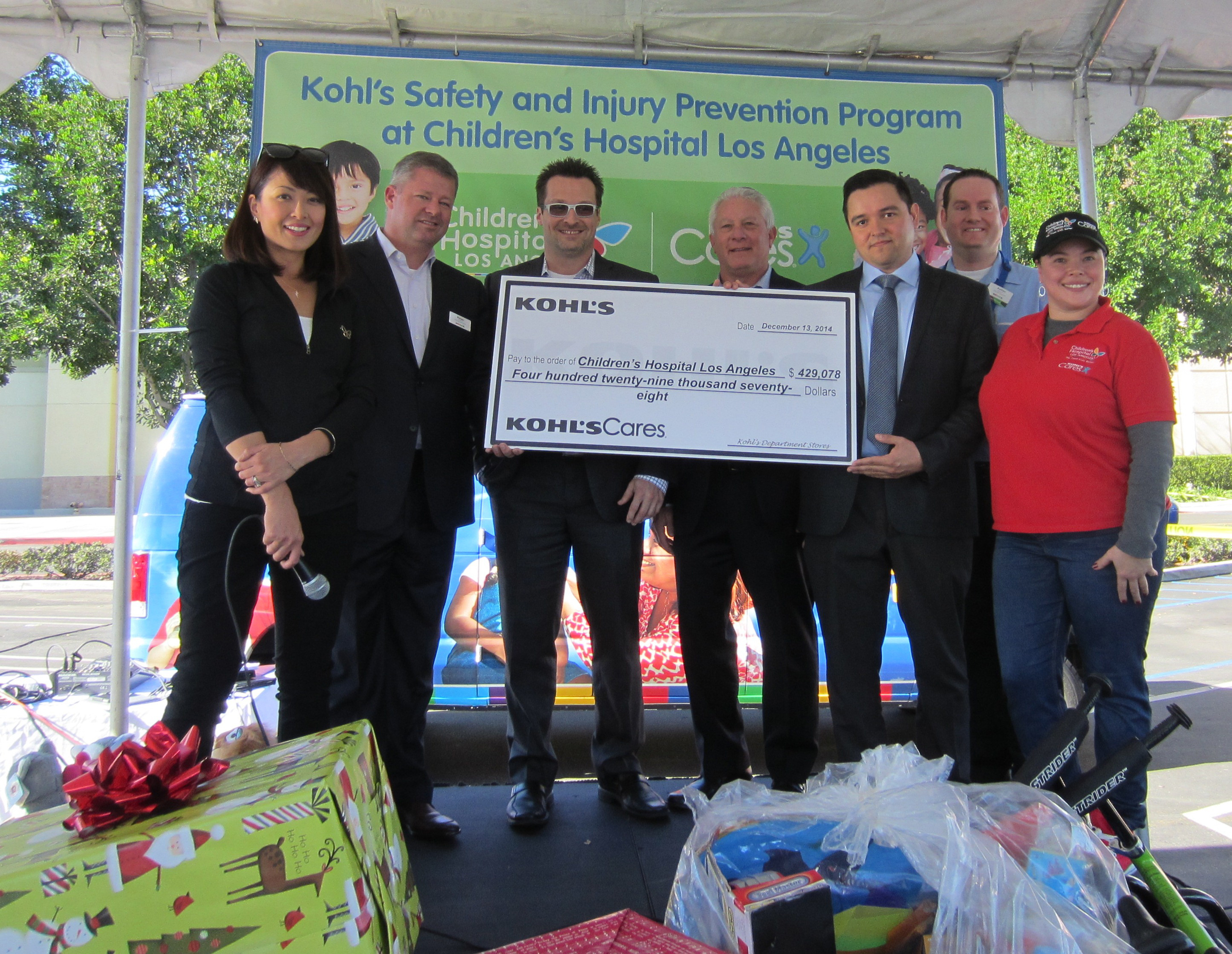 Children's Hospital Los Angeles Receives $429,078 Grant from ...
