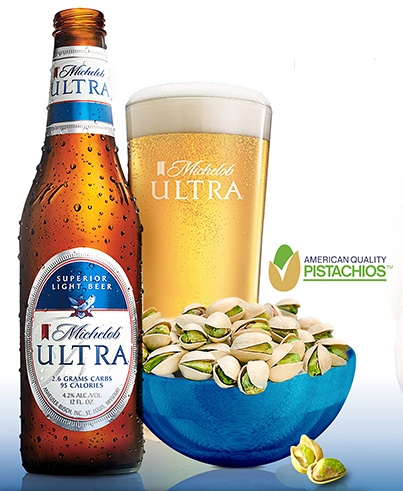 CORRECTING And REPLACING American Pistachios Pair With Anheuser Busch And Michelob  ULTRA Beer | Business Wire