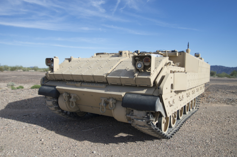 BAE Systems' AMPV solution will provide a substantial upgrade over the Army's current personnel carrier fleet. (Photo: BAE Systems)