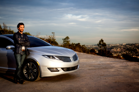 Ads for the 2015 Lincoln MKZ starring Matthew McConaughey were filmed in Southern California. (Photo: Business Wire)