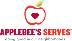 Applebee's restaurants launched Applebee's Serves, a program to honor the decades-long tradition of charitable giving and franchisees that have gone above and beyond in supporting their neighborhoods. (Graphic: Business Wire)