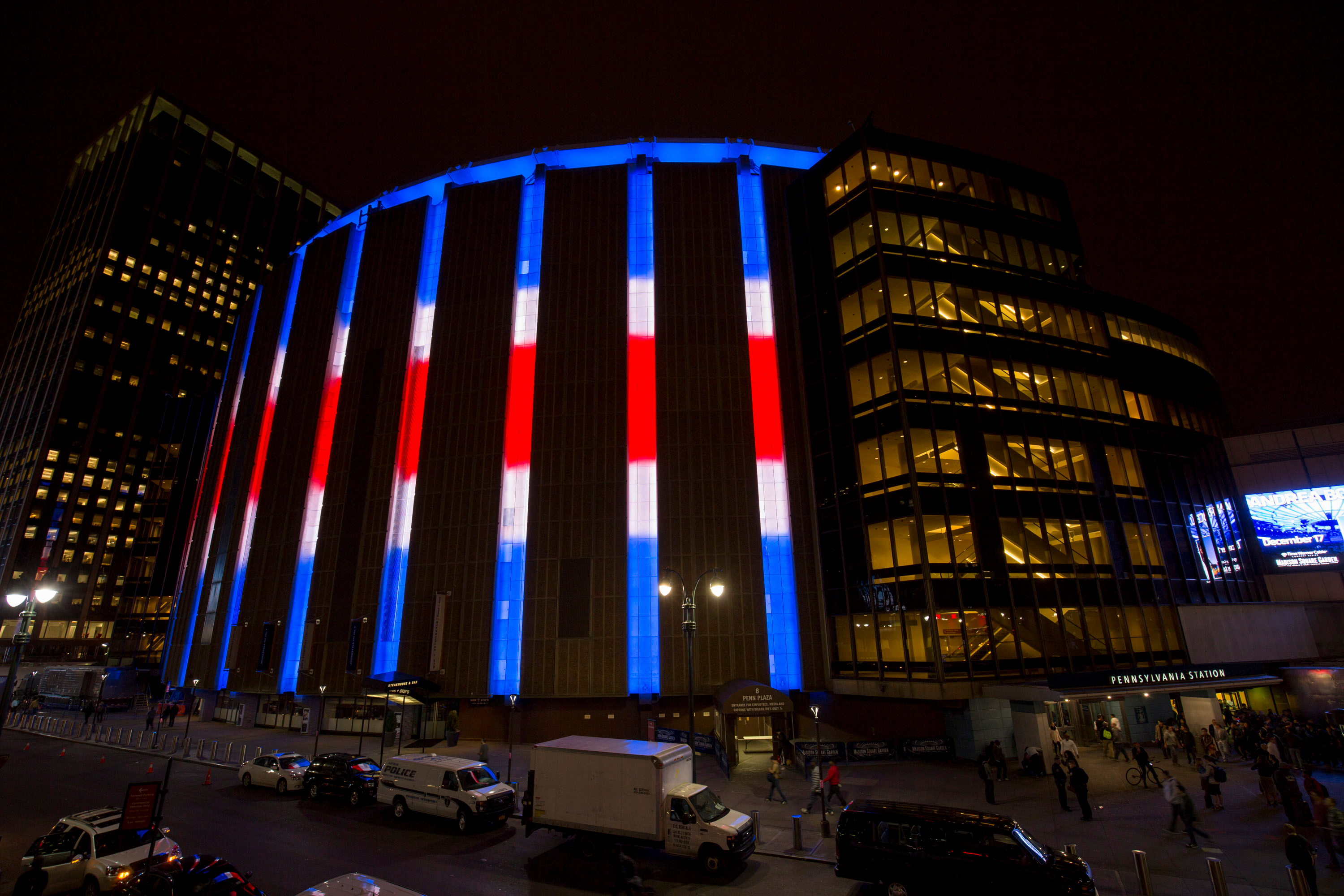 Philips helps madison square garden shine with state of - Madison square garden to times square ...