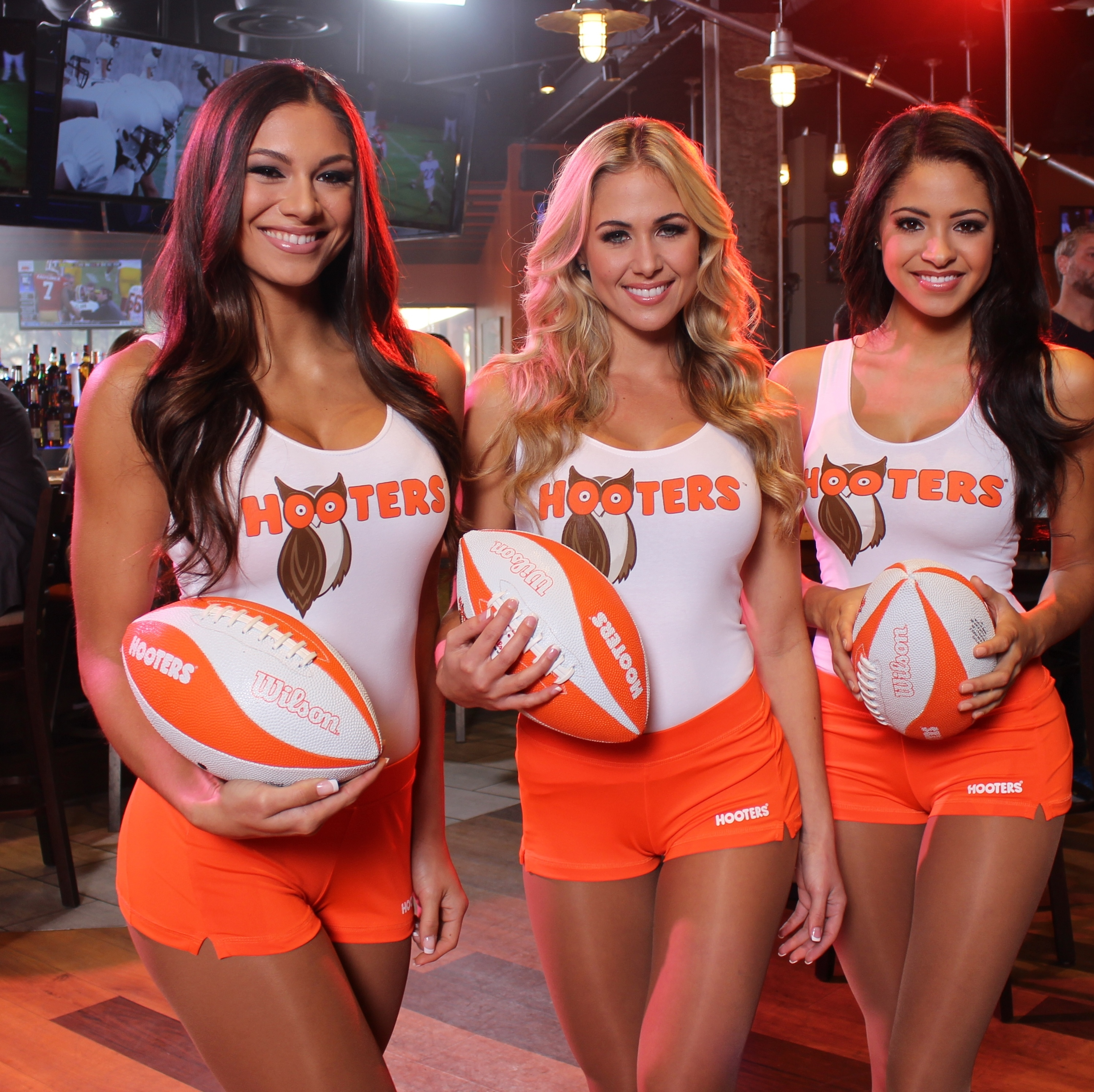 Hooters Deems January The Greatest Month Of Football Ever