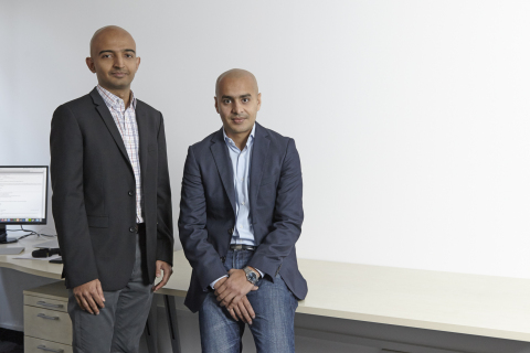 Ashwin Parameswaran (left) and Rito Haldar (right), co-founders of Unbolted (Photo: Business Wire)