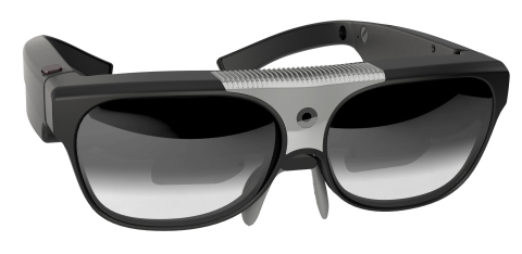 ODG's new consumer-oriented AR Smart Glasses system, unveiled at CES 2015. Coming soon. (Photo: Business Wire)