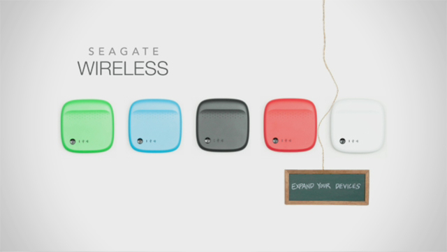 The new Seagate Wireless offers more space to carry everything consumers want on their mobile devices.