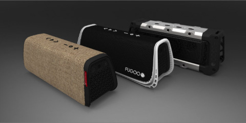 The new larger and louder FUGOO XL rugged and waterproof Bluetooth speaker is designed for the outdoor enthusiast; it features 8 acoustic drivers, is 100% waterproof, shockproof, dust-proof and snow-proof, and plays for 35 hours before needing a recharge. (Photo: Business Wire)