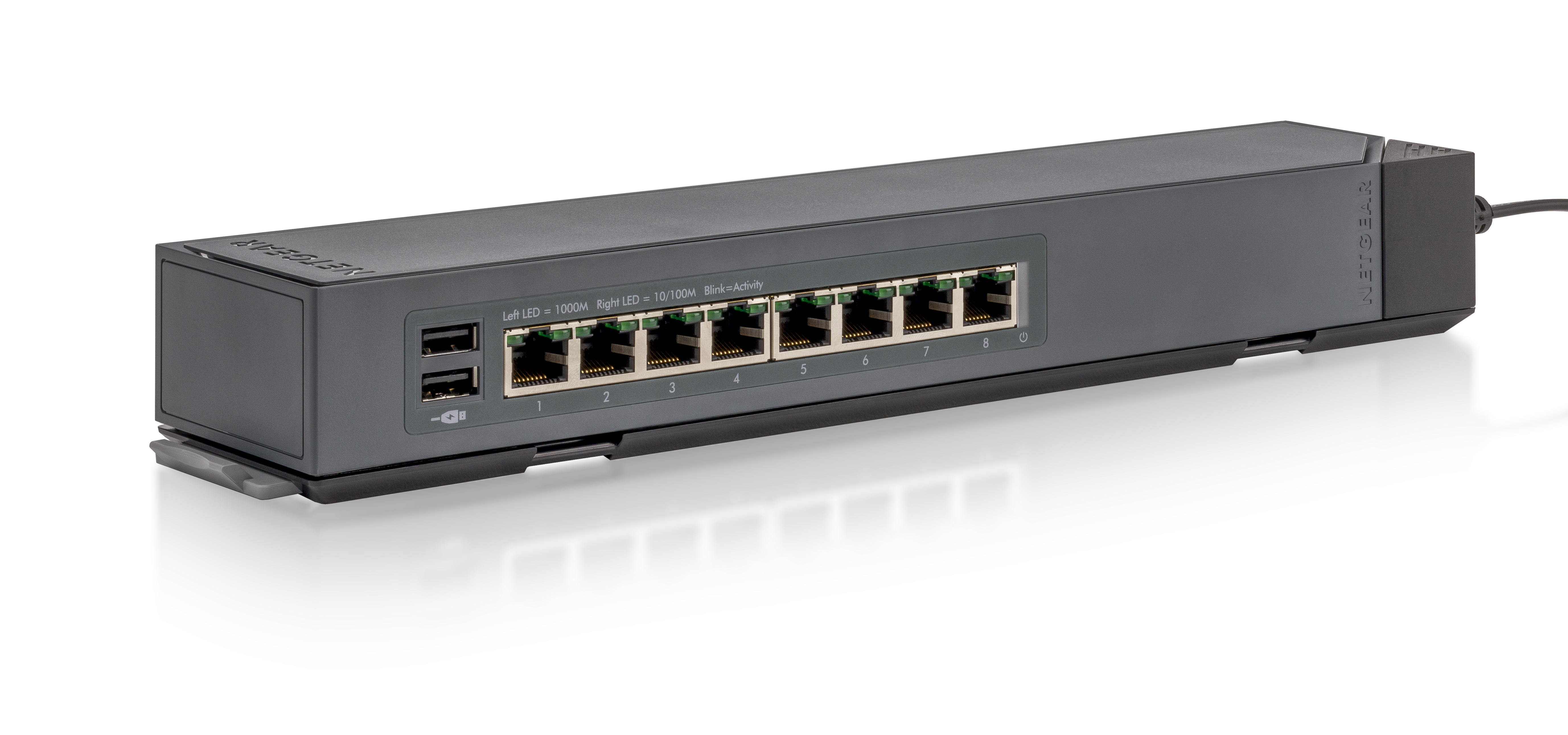 network switch mounting and cabling headaches are gone as netgear