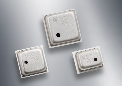 The BME680 environmental sensor enables multiple new capabilities for portable and mobile devices such as air quality measurement, personalized weather stations, indoor navigation, fitness monitoring, home automation and other applications for the Internet of Things (IoT). (Photo: Business Wire)