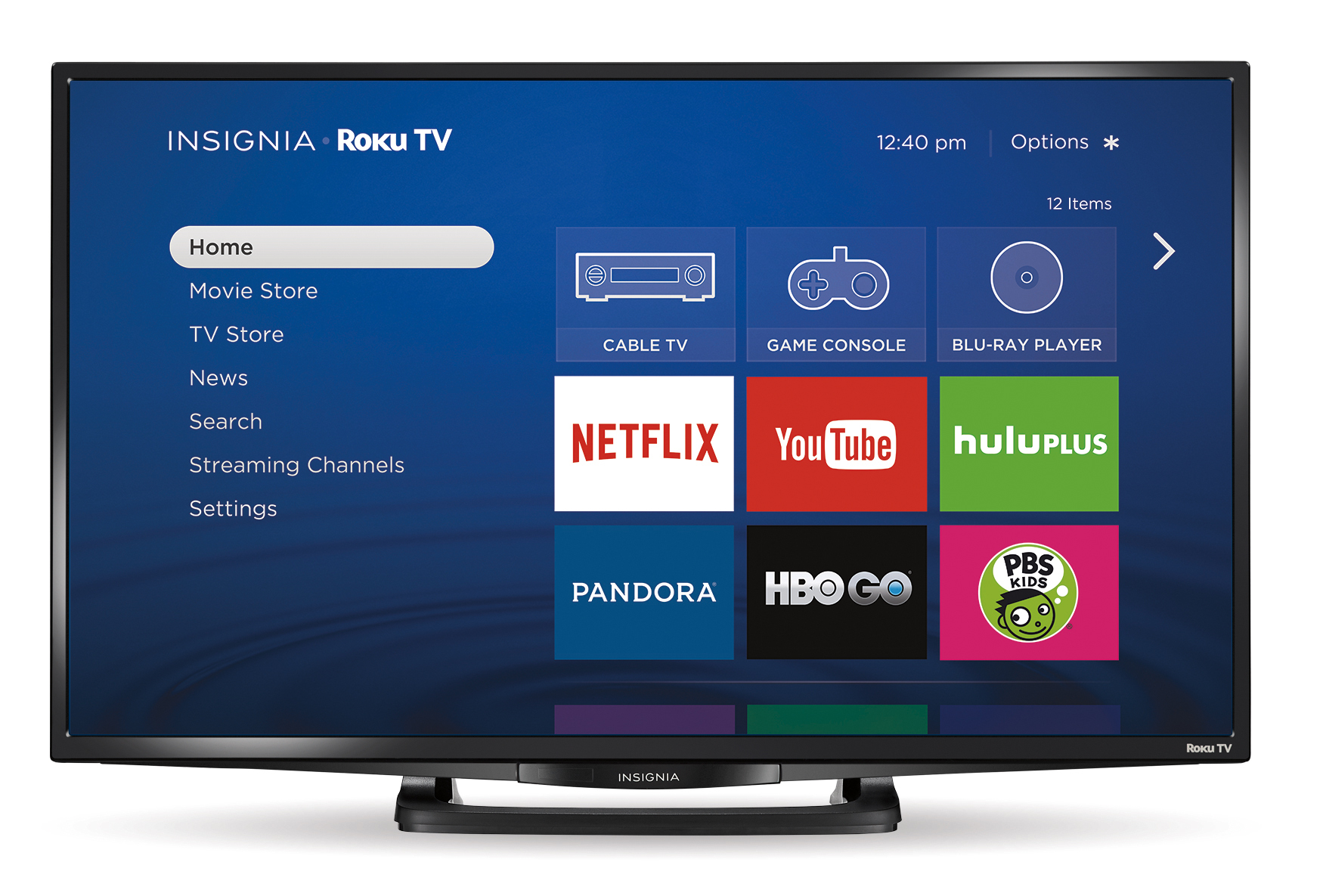 roku announces insignia roku tv models business wire full size