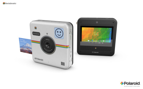 Announcing the Polaroid(R) Socialmatic(TM) instant digital camera, allowing consumers to capture, print, post, and share their moments instantly. (Photo: Business Wire)
