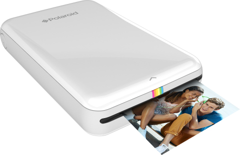 Print any image from your Android or IOS device instantly with the Polaroid Zip mobile printer. (Photo: Business Wire)