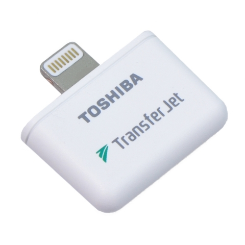 Toshiba: Industry's First TransferJet(TM) Lightning Adapter TJM35420LT (for iPhone/iPad/iPod) (Photo: Business Wire)