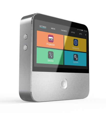 ZTE reveals next generation smart projector, Spro 2, at the 2015 Consumer Electronics Show (Photo: Business Wire)