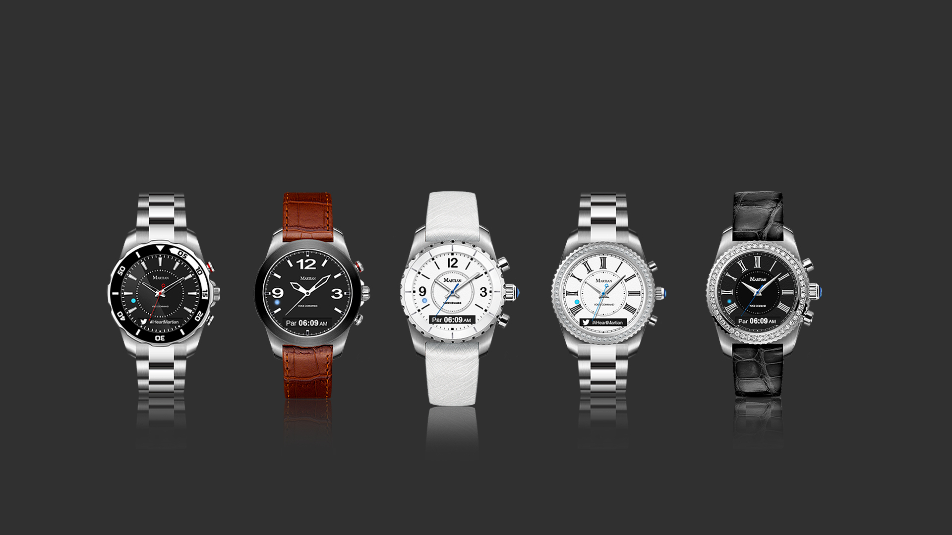 93244b18d6e Martian Watches Introduces New Smartwatch Designs to Suit a Myriad of  Tastes and Styles