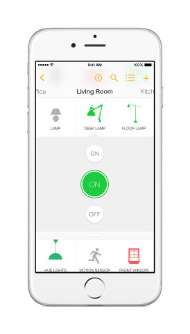 Insteon Mobile App - On/Off Device (Photo: Business Wire)