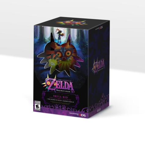 Limited-edition The Legend of Zelda: Majora's Mask 3D bundle with Skull Kid figurine