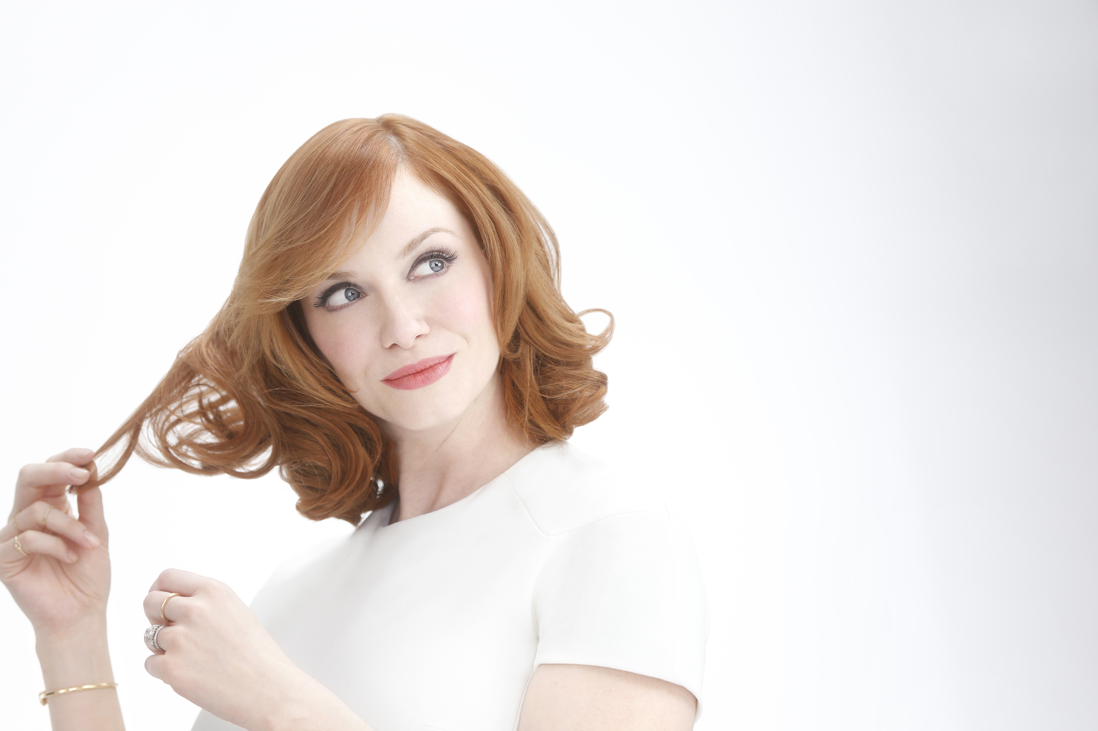 Christina Hendricks Revealed As Nice N Easy Brand