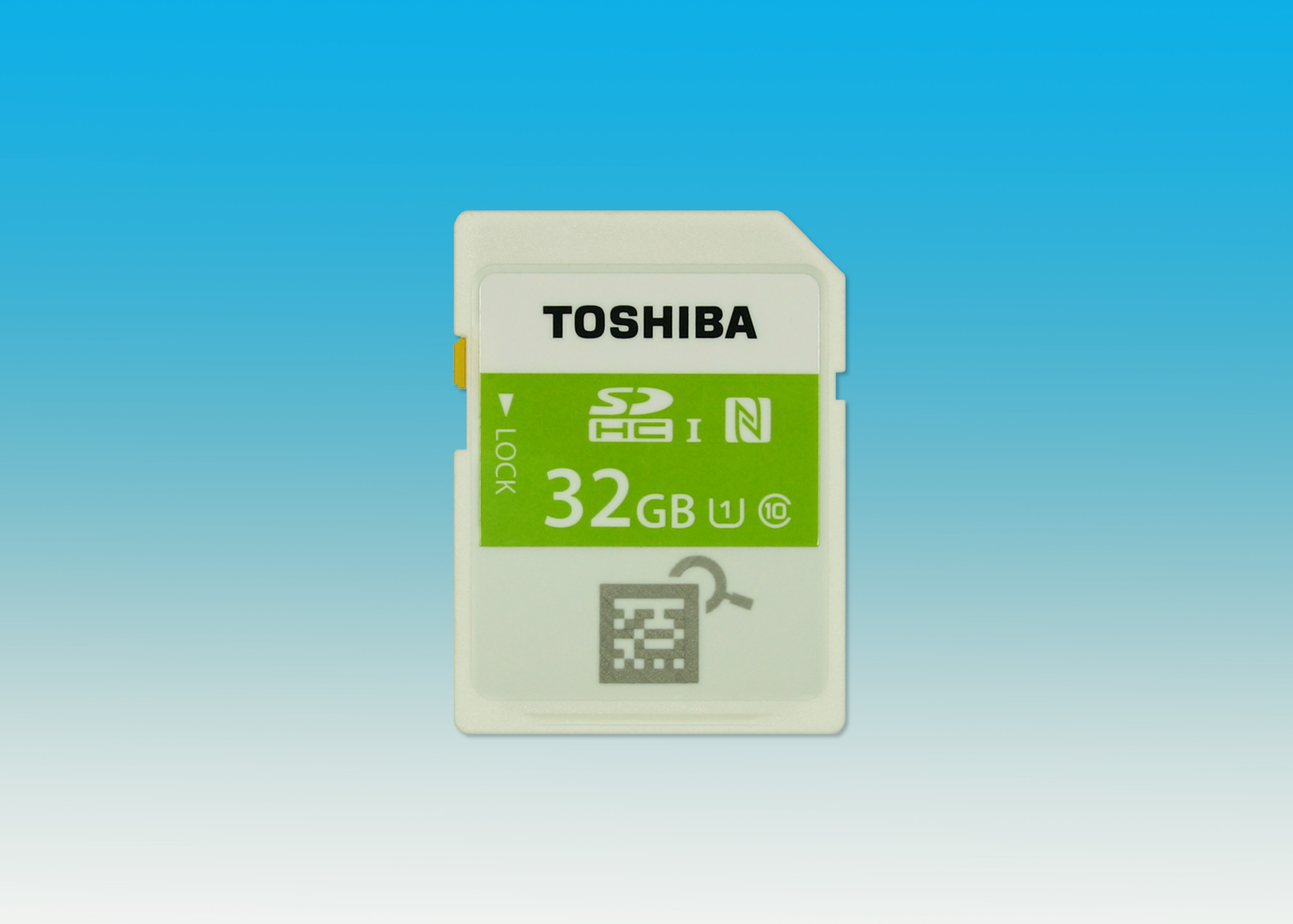 Toshiba: World's First NFC Built-in SDHC Memory Card (Photo: Business Wire)