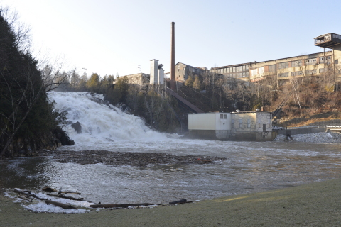 Eaton is helping Green Mountain Power modernize, upgrade and automate the electrical system at its Proctor, Vermont hydroelectric plant. (Photo: Business Wire)