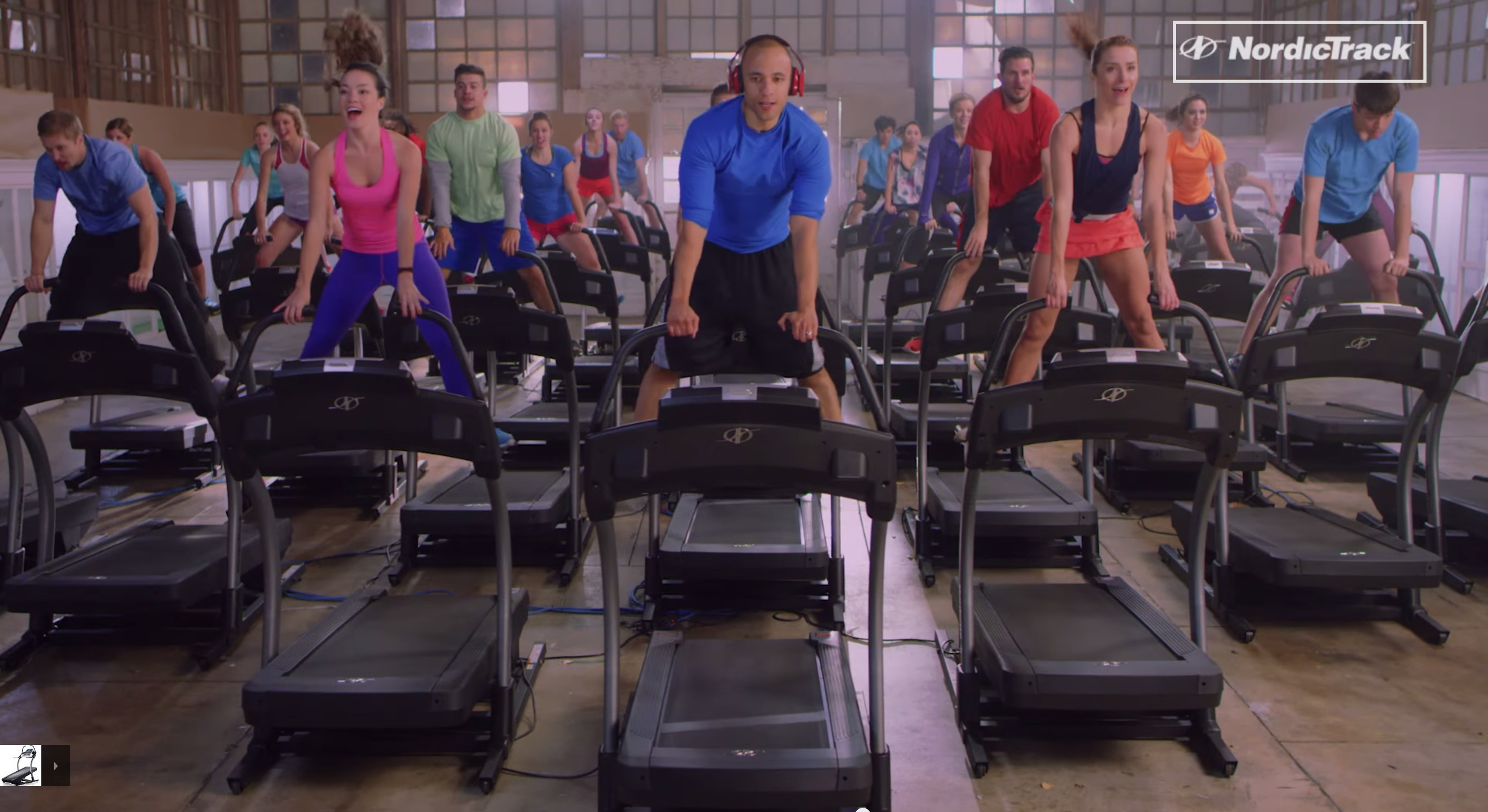 NordicTrack Organizes World's Largest Treadmill Dance - 45