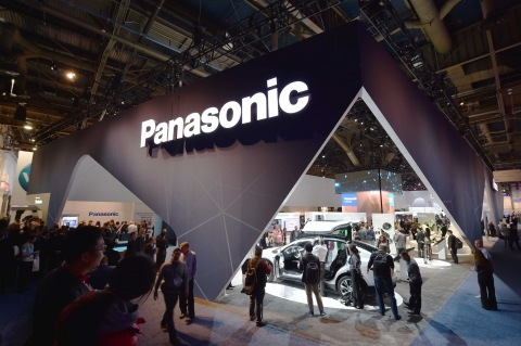 Panasonic booth at CES2015 (Photo: Business Wire)
