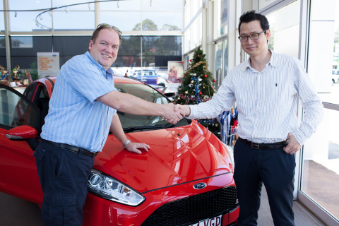 AvaTrade Announces the Winner of Its Big Car Giveaway. (Photo: Business Wire)