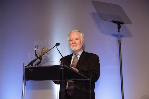 Larry Thorpe Honored with Emmy Award (Photo: Business Wire)