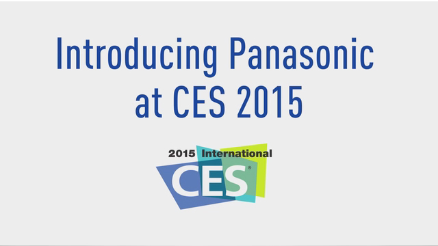 CES2015 Panasonic booth overview