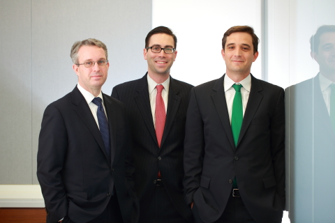 (L-R) Boies, Schiller & Flexner announced the addition of three former federal prosecutors Peter M. Skinner, Matthew L. Schwartz and John T. Zach as New York-based partners, launching a new Global Investigations and White Collar Defense practice area. (Photo: Business Wire)