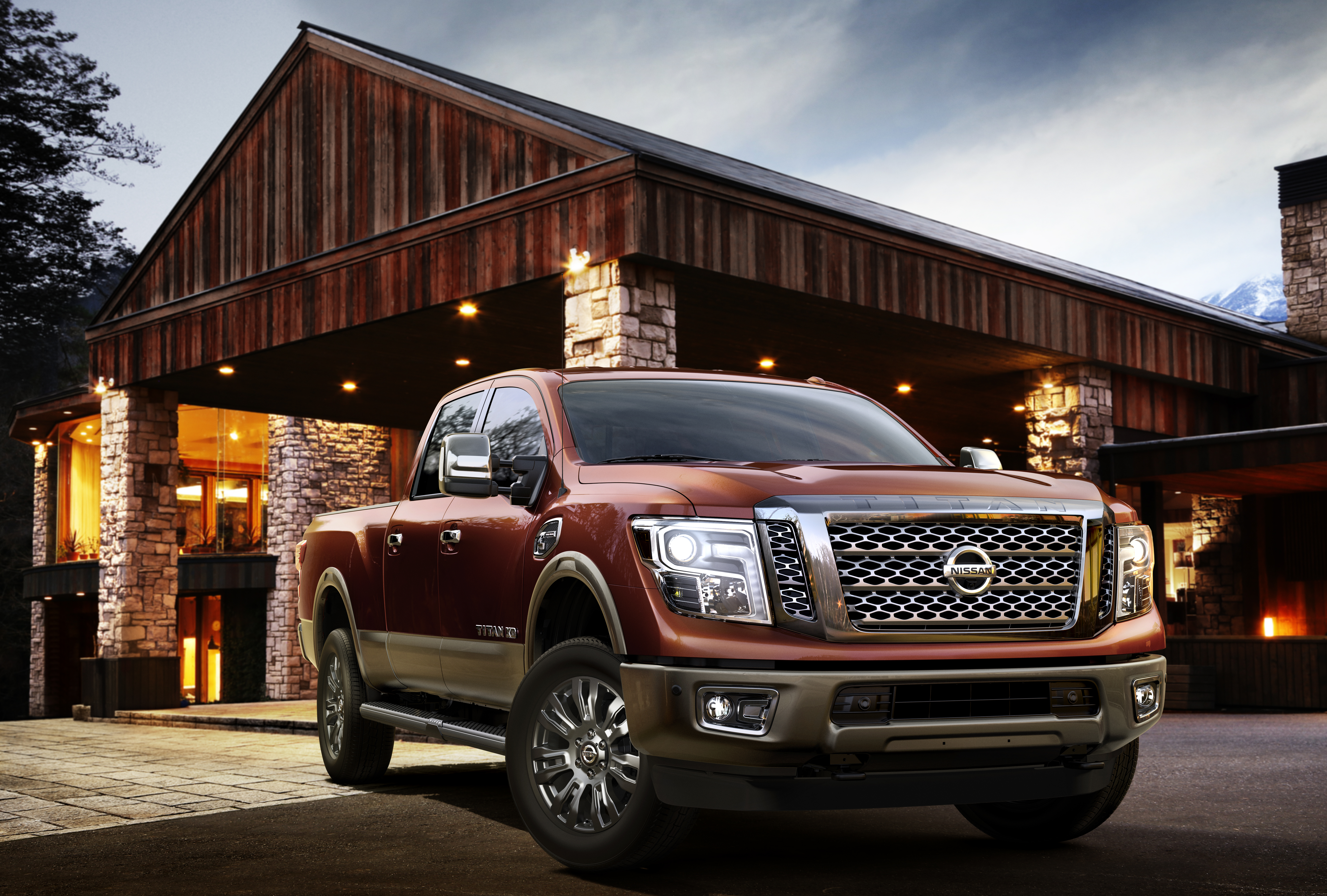 2016 Nissan Titan Xd Makes World Debut At North American 2009 Scion Xb Engine Diagram International Auto Show Business Wire
