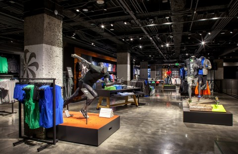 Nike Flagship Store, LEED Gold Rating Achieved, San Francisco, California (Photo: Business Wire)
