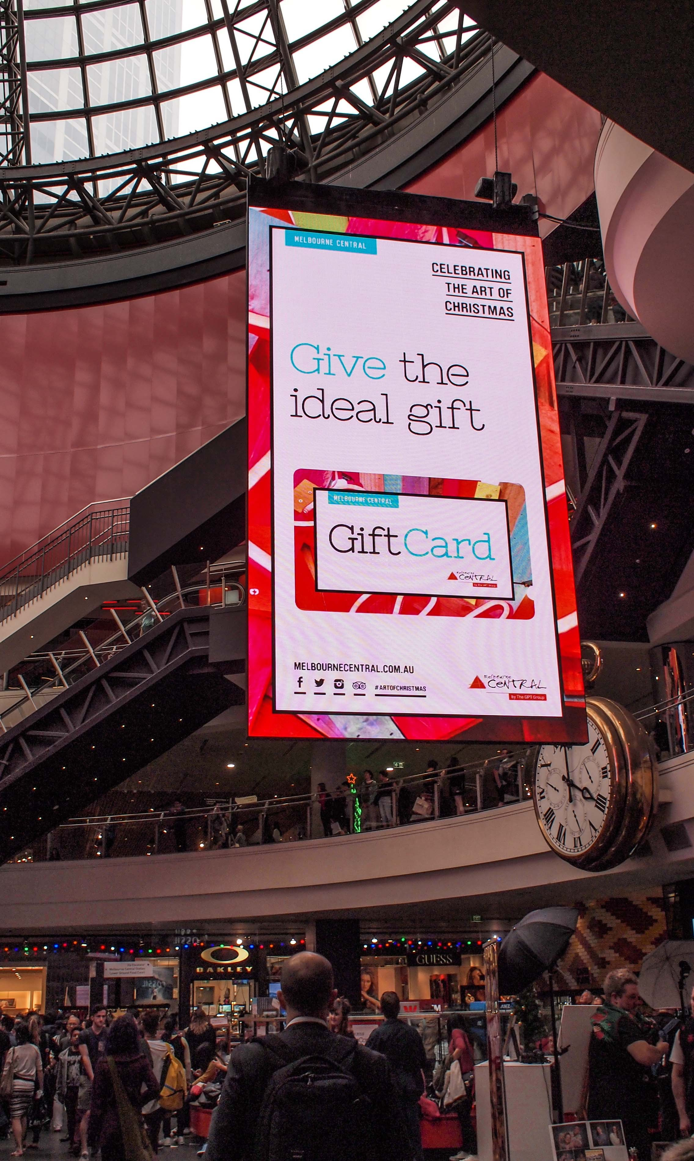 NanoLumens® Installs Its Largest Suspended Display at The GPT