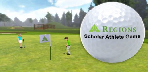 The Regions Scholar Athlete Game helps users learn how to manage money, save toward a goal, and budg ...