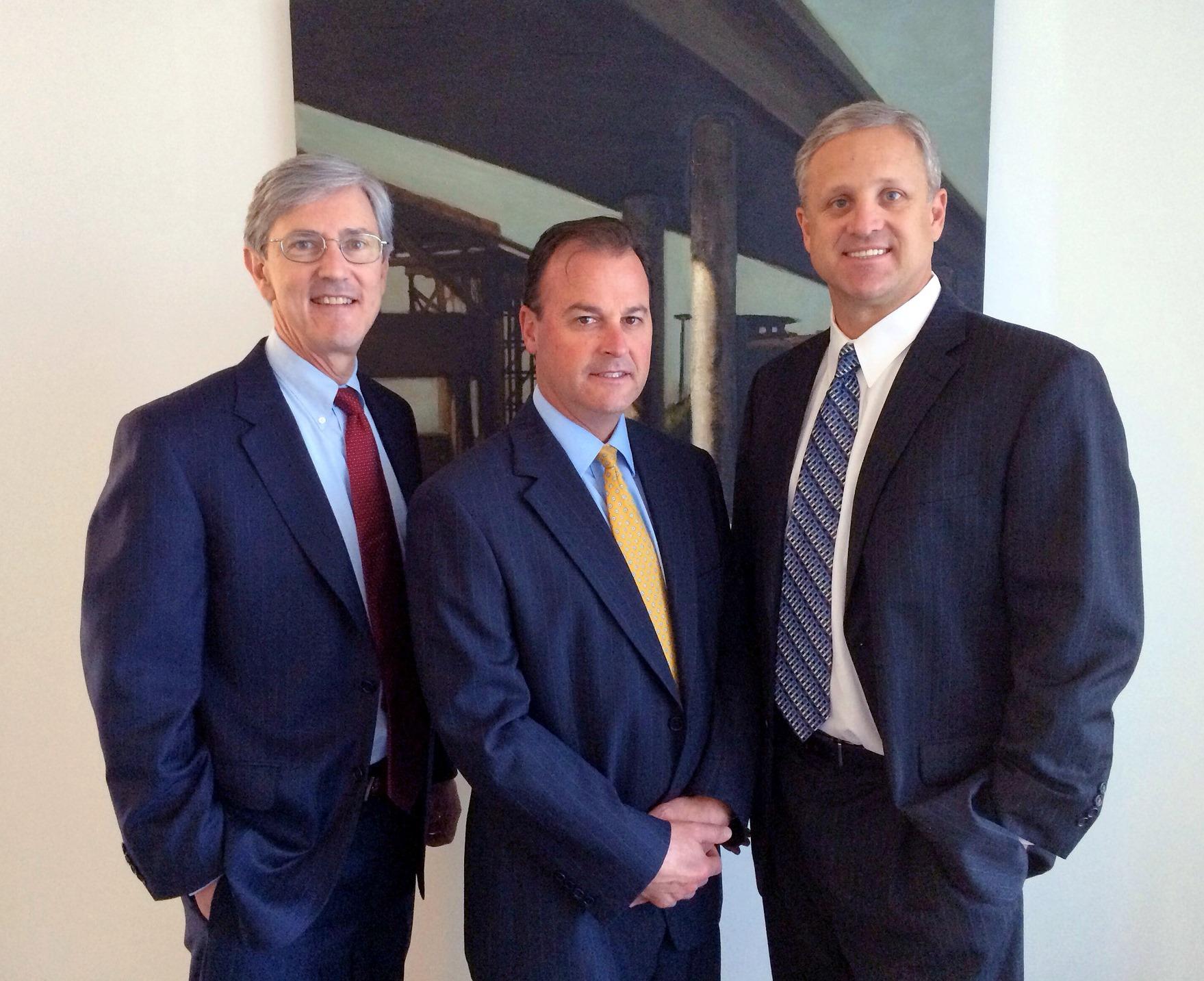 Michael Hatley, Douglas Lopez, CFA, and Terence Reidt, CFA (Photo: Business Wire)