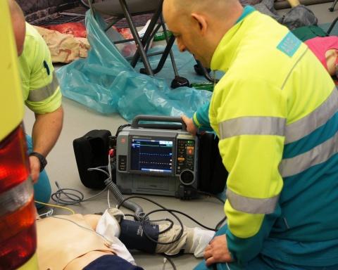 (13 January 2014 - UTRECHT, Netherlands) RAV Utrecht (RAVU), the Utrecht Regional Ambulance Service, ...