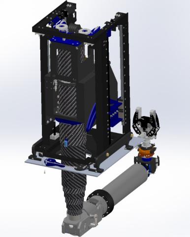Design rendering of Kurion repair manipulator that will be deployed at the Fukushima Daiichi Nuclear ...