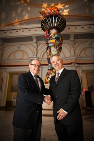 Joe DiBianca, Chairman and Strategic Advisor for Global Tax Management (left) and Dave Laurinaitis, newly appointed President and Managing Director of the firm (right). (Photo: Business Wire)