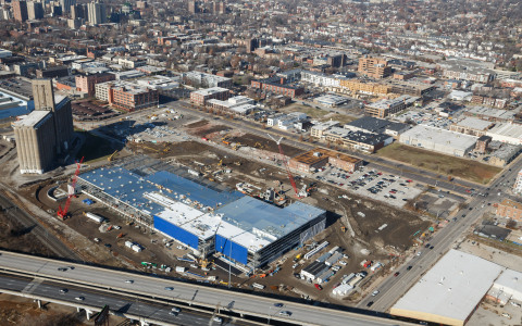 IKEA, the world's leading home furnishings retailer, today announced solar energy plans for its St. Louis store opening Fall 2015. Panel installation will begin this Spring, with completion before the store's opening, making the project the largest rooftop solar array in the State of Missouri. (Photo: Business Wire)