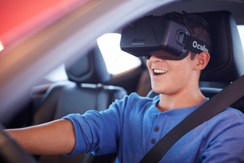 Oculus Rift's custom technology allows TeenDrive365 to offer a virtual experience that surpasses any other distracted driving simulation available to the public. (Photo: Business Wire)
