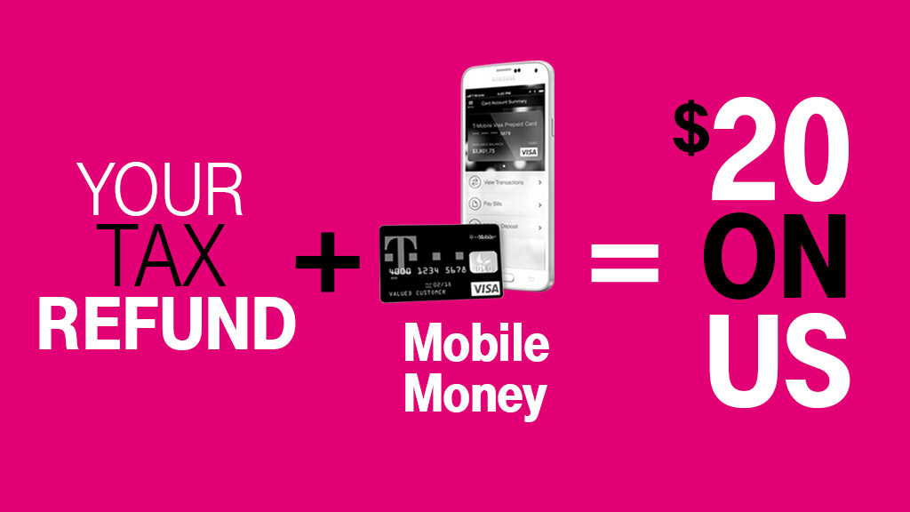 T-Mobile Gives Mobile Money Customers an Extra $20 on Their Tax ...