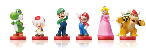 A line of amiibo figures inspired by the characters of the Super Mario series will launch on March 20. (Photo: Business Wire)